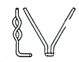 Refractory Anchors, Stainless Steel Refractory Anchors, Industrial Refractory Anchors, 740